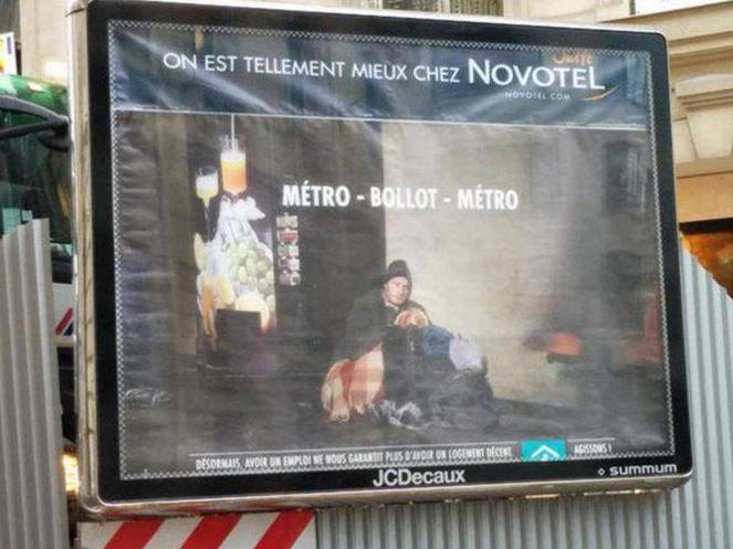 Métro Boulot Novotel