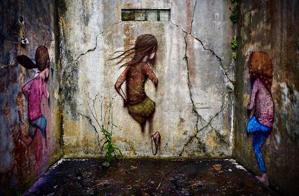 [Street Art] 10 œuvres surprenantes à travers le Monde 🌍
