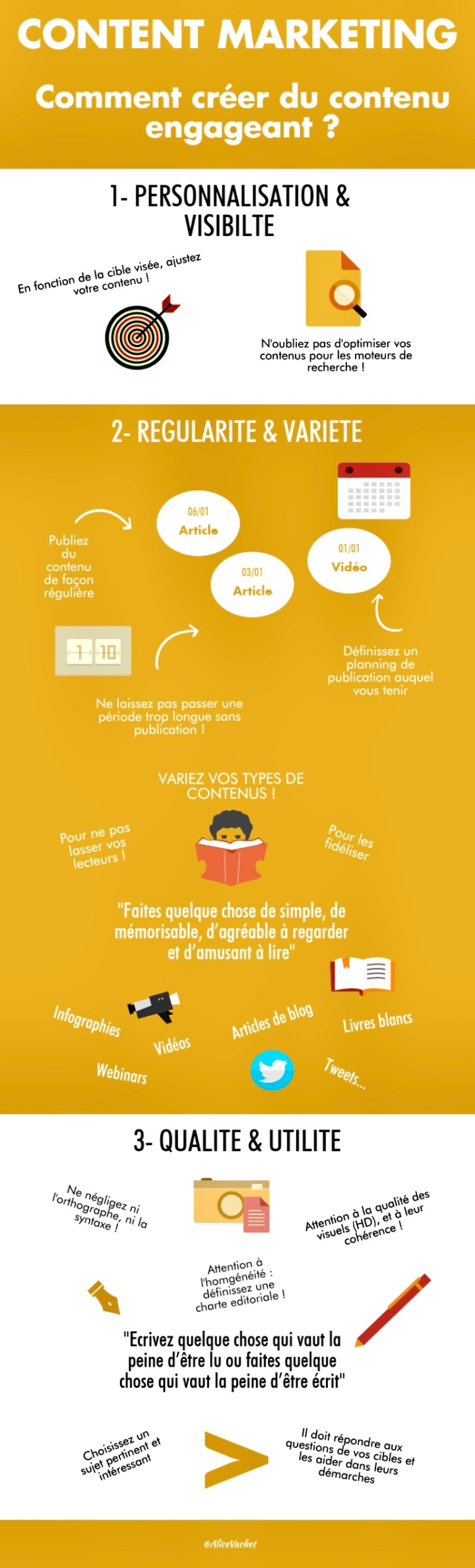 [Infographie] Content Marketing : Comment Créer Du Contenu Engageant ? 🧐