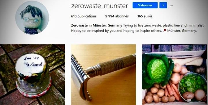 [Ecologie] Zéro Déchets : 10 Comptes Instagram à suivre absolument♻️