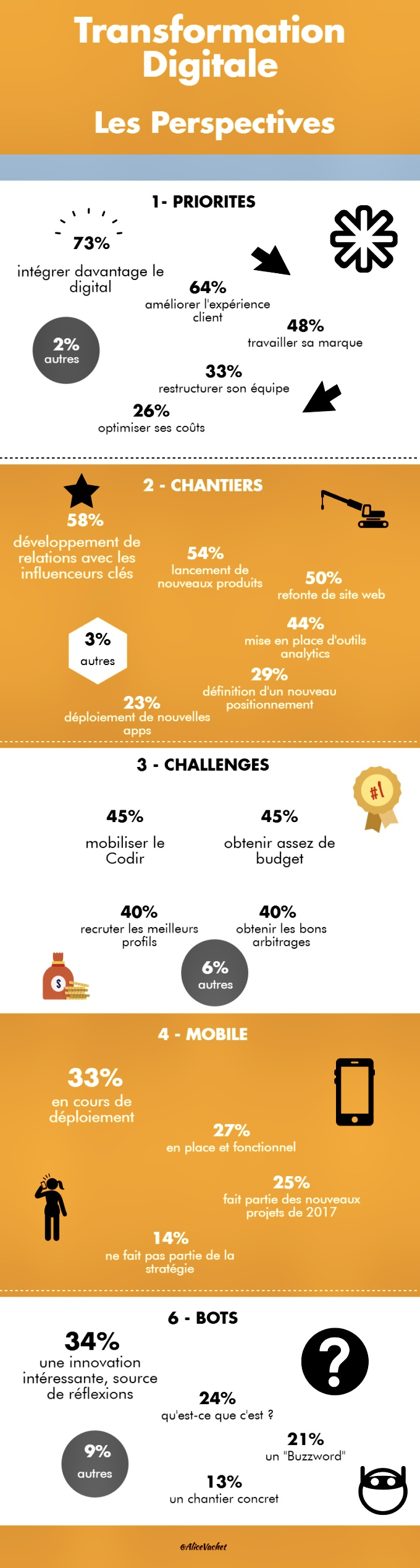 [Infographie] Transformation Digitale : Les Perspectives 🧮