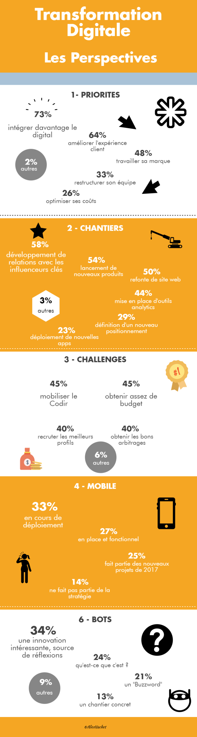 [INFOGRAPHIE] Transformation Digitale : Les Perspectives
