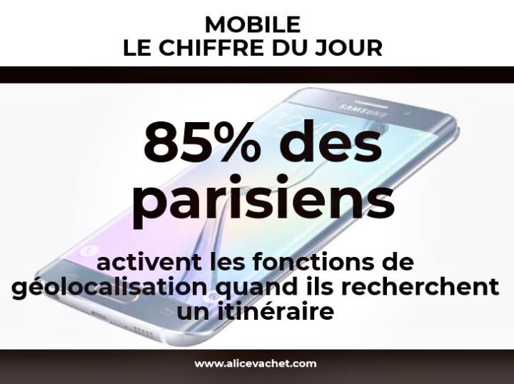 [Mobile] Chiffre du Jour – Géolocalisation📳