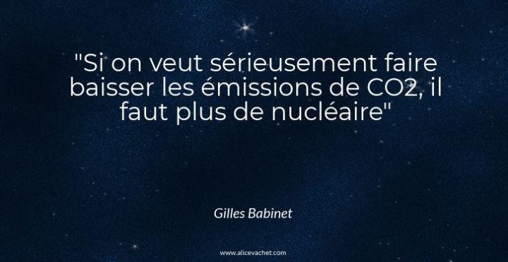 [Citation d'Expert] 🌟 Gilles Babinet sur lenucléaire