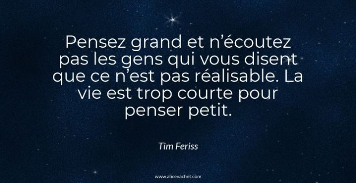 [Citation Entrepreneur]💡Tim Ferriss