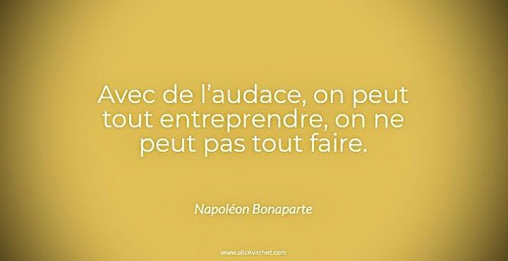 [Citation Entrepreneur]💡Napoléon Bonaparte