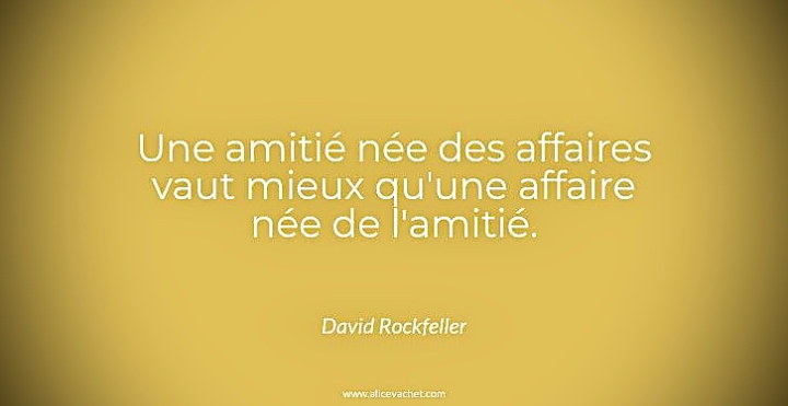 [Citation Entrepreneur]💡David Rockefeller