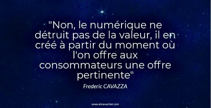 [Citation d'Expert] 🌟 Frédéric Cavazza sur la TransformationNumerique