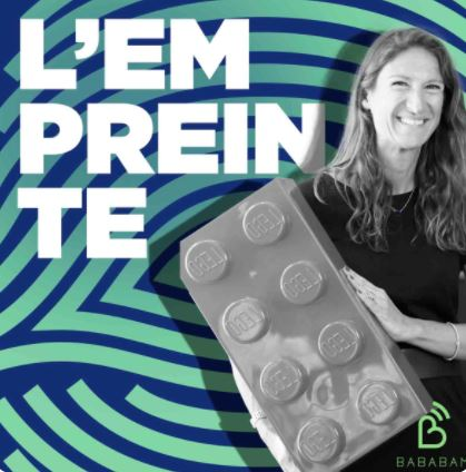 L'Empreinte 🎧 Anne Besson, directrice de Lego France♻️