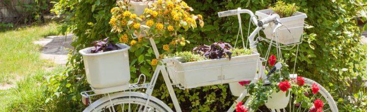 [Récup'] 16 idées de déco avec un vieux vélo (Partie 1)♻️