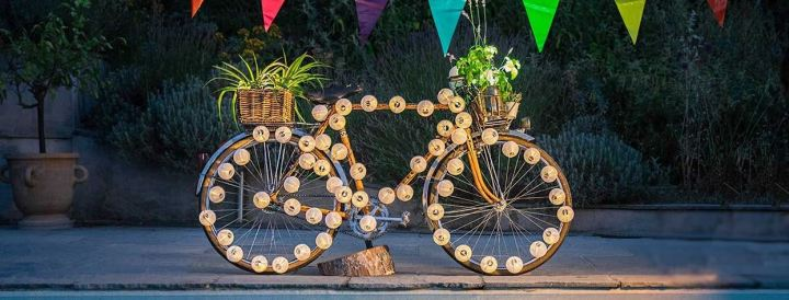 [Récup'] 16 idées de déco insolites avec un vieux vélo ♻️ Partie2
